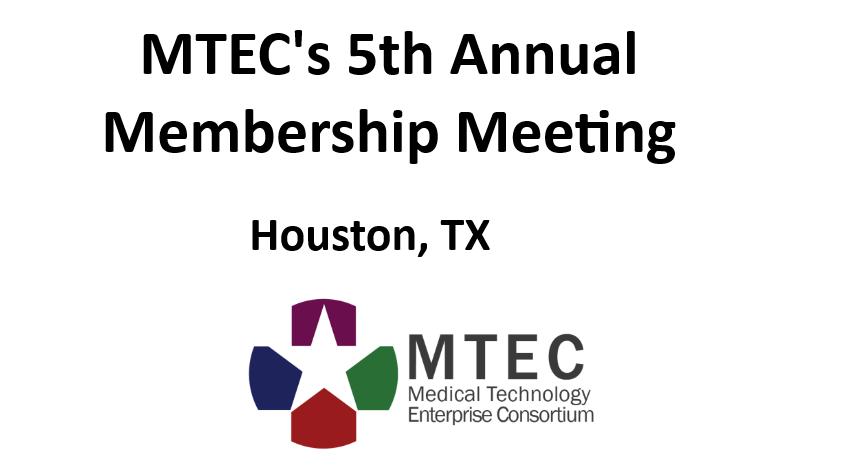 MTEC Annual membership meeting