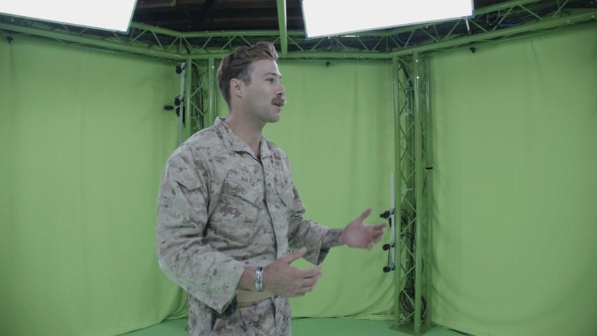 8i augmented reality volumetric video sample image